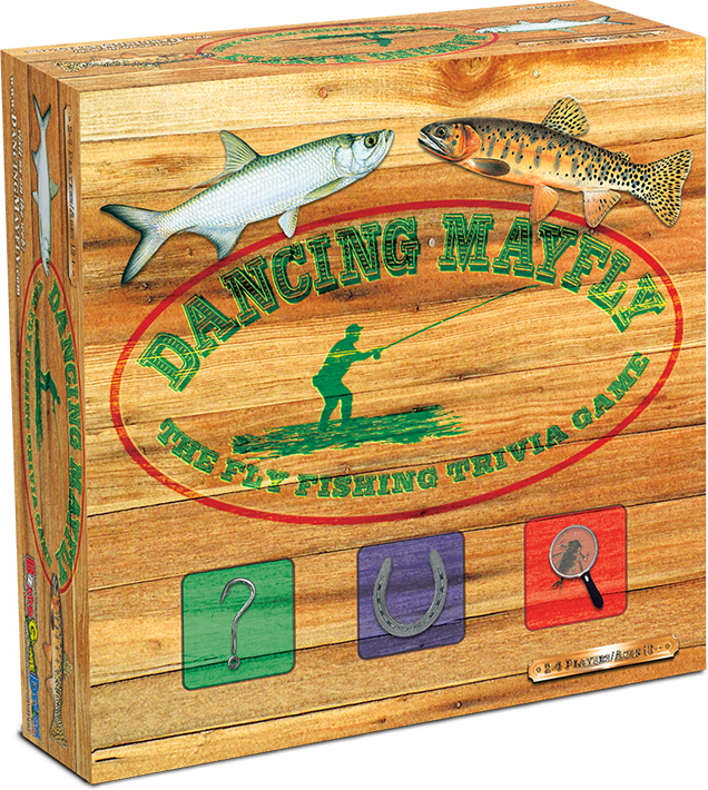Dancing Mayfly Fly Fishing Board Game