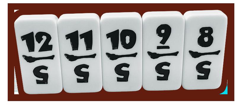 Custom Domino Tiles