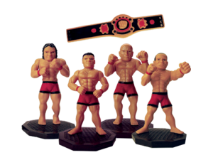 Custom Tooled Game Figurines